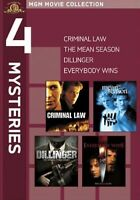 MGM 4 Mysteries - Criminal Law/The Mean Season New DVD