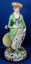 Nice18thC Staffordshire Lady Figurine Diana the Huntress Figure English England
