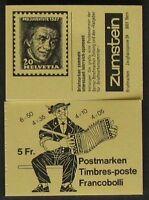 s668a) Schweiz Markenheftchen 1984  MH 0-78 g **  postfrisch Pro Juventute
