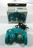 Teal Nintendo Gamecube Controller w/ box OEM Japanese Exclusive US Seller TESTED