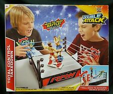 Mattel WWE RAW Double Attack Total Control Takedown Wrestling Ring 2014