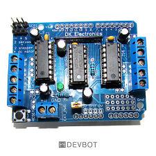 Arduino Uno Shield Moteur V1. Servo, moteur DC, DIY, Pi