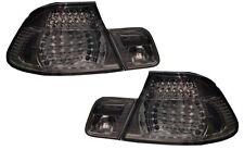 Indietro Posteriore Coda Luci Affumicato Nero crystal-look LED COPPIA BMW E46 Cabrio 00-03