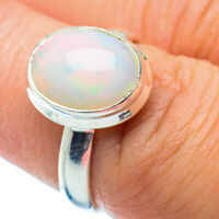 Ethiopian Opal 925 Sterling Silver Ring Size 7.25 Ana Co Jewelry R36014F