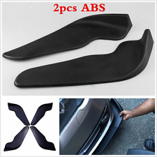 2pc Universal Car Bumper Spoilers Front Shovel Decorative Scratch resistant Wing