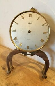 VINTAGE SCHATZ 400 DAY ANNIVERSARY CLOCK FACE FOR PARTS OR REPAIR ONLY  #53