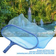 More details for heavy deep leaf net swimming pool rake spas skimmer pond pools fish cleaning net