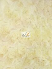 ROSE/ROSETTE MINKY FABRIC - Banana - BY THE YARD BABY SOFT BLANKET FUR EYEBUDS