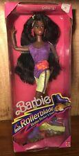 1991 Barbie CHRISTIE NOS Rollerblade Skates Flicker 'n Flash discontinued NRFB