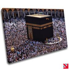 Islamic Muslim Islamic Mecca Haram Kaaba CANVAS Wall Art Picture Print A4