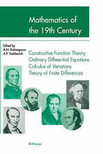 Mathematics of the 19th Century: Function Theory According to Chebyshev Ordinary