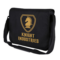 KNIGHT INDUSTRIES Rider Michael Hasselhoff Kitt 80s Umhängetasche Messenger Bag