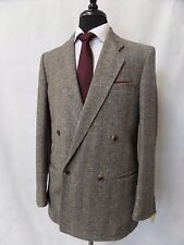 Men's bespoke tweed suit 38R W30 L29 CC4840
