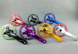 Crankset crank arm 170mm BB Narrow Wide Oval Chainring 32 34 36 38T MTB XC Bike