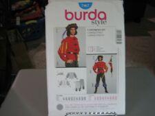 Burda 7467 Men's Renaissance Landsknecht Costume Pattern - Size 34-50