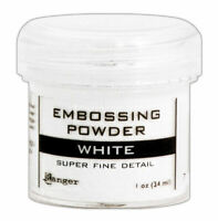 Ranger Embossing Powder White Super Fine