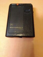 Vintage Motorola Bravo Link Pager Beeper Black  462.42500MHz