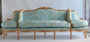 Stunning Louis XV French style sofa