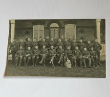 ROYAL WEST KENT REGIMENT WWI Officers Group portrait RP Postcard