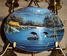 NOCTURNAL GLOW JIM HANSEL NIGHT SONGS THE LOON Plate