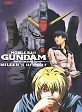 Mobile Suit Gundam - 08th Ms Team - Miller's Report (movie) - DVD New Sealed