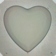 "Flexible Resin Mold Large Heart 2"" Craft Supplies"