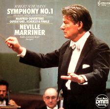 Capriccio C 27 078 Schumann Symphony no. 1 Sir Neville Marriner [1985] NM/EX