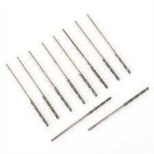 10Pcs 1MM Diamond Coated HSS Tipped Solid Bits Drill Twist Drills Bit Hole Saw