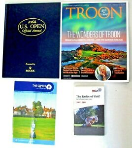106th US Open Hardcover Annual The Open 2003 Guide Troon 2002-2003 Rules of Golf