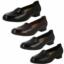Loafers, Moccasins 100% Leather Wide (E) Flats for Women