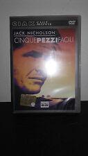 DVD - CINQUE PEZZI FACILI DI BOB RAFELSON CON JACK NICHOLSON - USATO