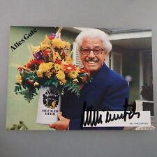 Autogramm Willy Millowitsch auf Autogrammkarte (47836)