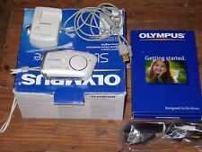 Olympus stylus verve 4 MP digital camera/16MB card/USB cable/charger/battery