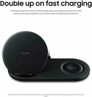 Samsung Wireless Duo Fast Charge Stand & Pad For S9 , S9+ & Note9