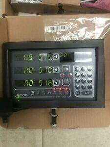 newall digital readout. DP700. 3 Axis Display New In Box.