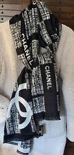 Chanel Cashmere & Silk XLarge Scarf NWT