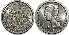 CAMEROUN 2 FRANCS 1948 ESSAI KM#E6