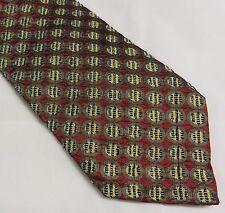 Ermenegildo Zegna  Executive 100% Silk Tie Necktie Men Italy