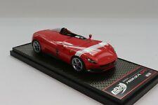BBR BBRC220C Ferrari Monza SP1 in Rosso Corsa 322  LE 72 pcs 1:43