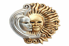 STUNNING Canvas Sun and The Moon Party Masks #12 Wall Hanging Picture Art A1