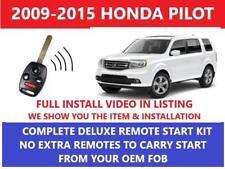 Plug And Play Remote Start Fits 2009 2015 Honda Pilot Fits Honda