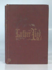 Antique Book Luther Lied By Hasta Luther Song German Brumder Milwaukee Rare
