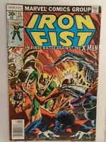 Iron Fist #15, VG 4.0, X-Men, John Byrne Art; Final Issue