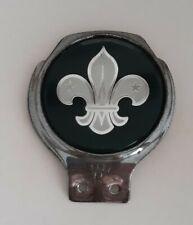 More details for vintage scout car badge. scouting car mascot. vintage boy scout car badge