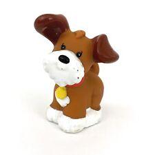 """Little Tikes Dollhouse Schnauzer Dog Puppy Animal Brown 2 1/2"""""""