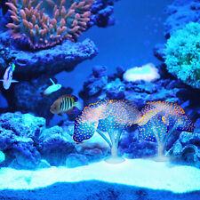 1XBlue Aquarium Fish Tank Artificial Coral Simulation Fluorescence Ornament