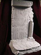 """Reissue base """"PHARAOH"""", resin kit 1/6. design, and sculpture, by JL CRINON"""