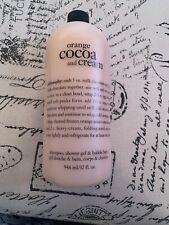 philosophy orange cocoa And Cream Shampoo Shower Gel And Bubble Bath 32oz