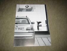 BMW 3er 318i 320i 325i 330i 330d touring E46 Preisliste price list von 9/2001