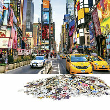 USA Times Square 1000 piece Jigsaw Puzzles Adults Kids Learning Education Toys